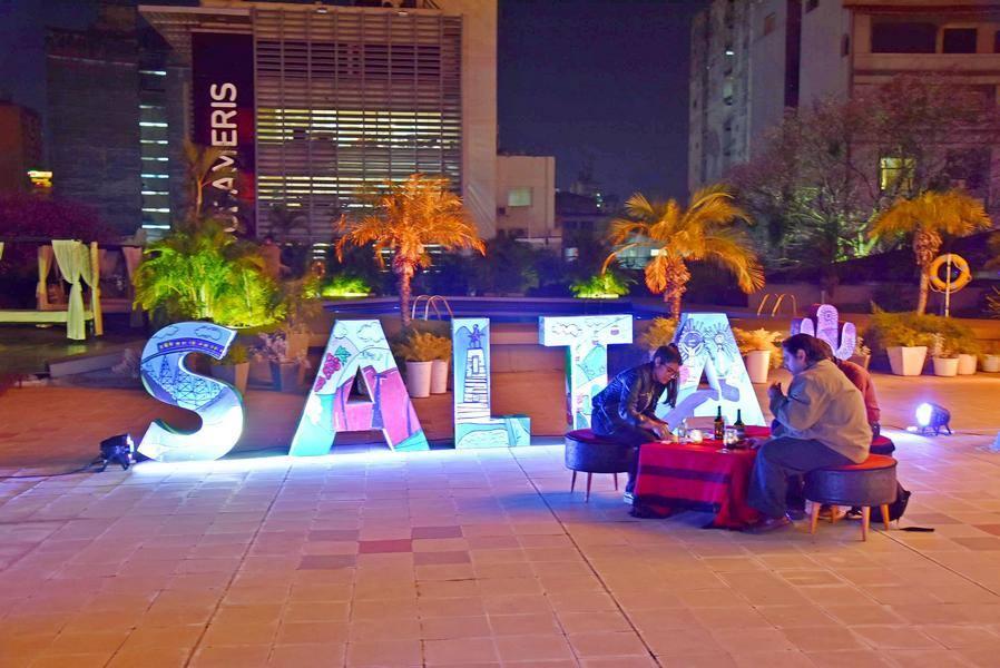 Presentación: Salta Argentina en la Terraza del Hotel Guaraní