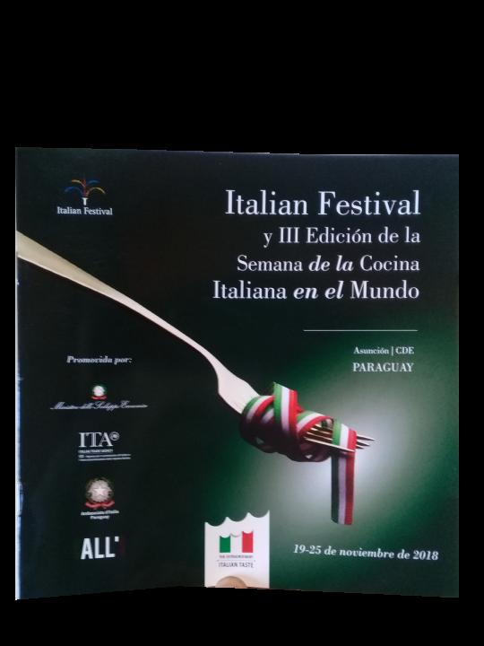 III edición de la semana de la cocina Italiana